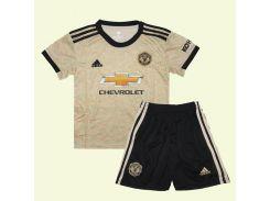 Манчестер Юнайтед форма детская 19-20 Adidas выездная S 115-125 см S-20 (2817)