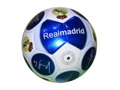 Мяч Реал Мадрид с автографами 2016-2017 Blue размер 5 (2126)