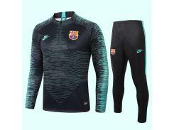 Спортивный костюм футбольный Барселона для детей 2020 Vaporknit Strike р.28 145-155 см N16-28 (2885)