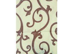 Комплект постельного белья из полиэстера Евроразмер, Светлые вензеля