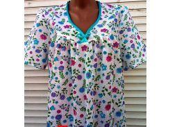 Ночная рубашка с рукавом 46 размер Поляна