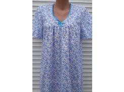 Ночная рубашка с рукавом 46 размер