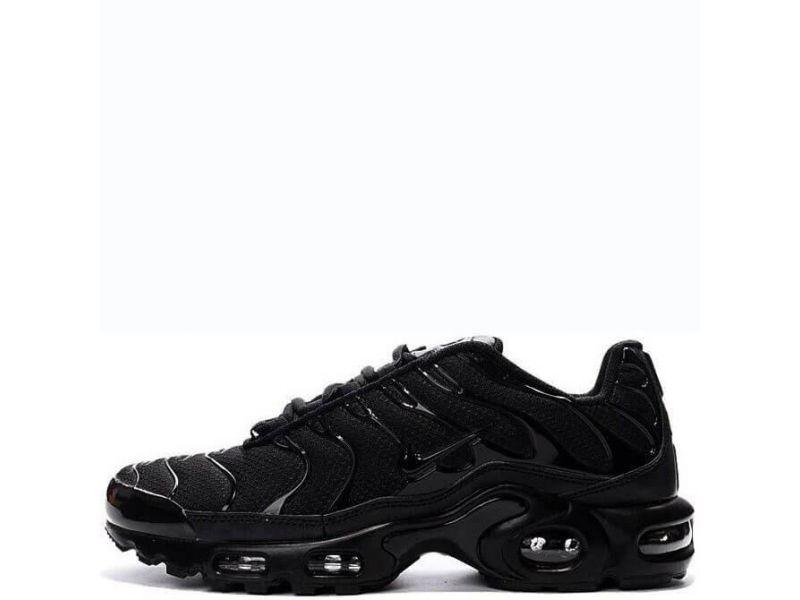 232f1905 Кроссовки Nike Air Max TN Plus All Black (Найк Аир Макс ТН, реплика ...