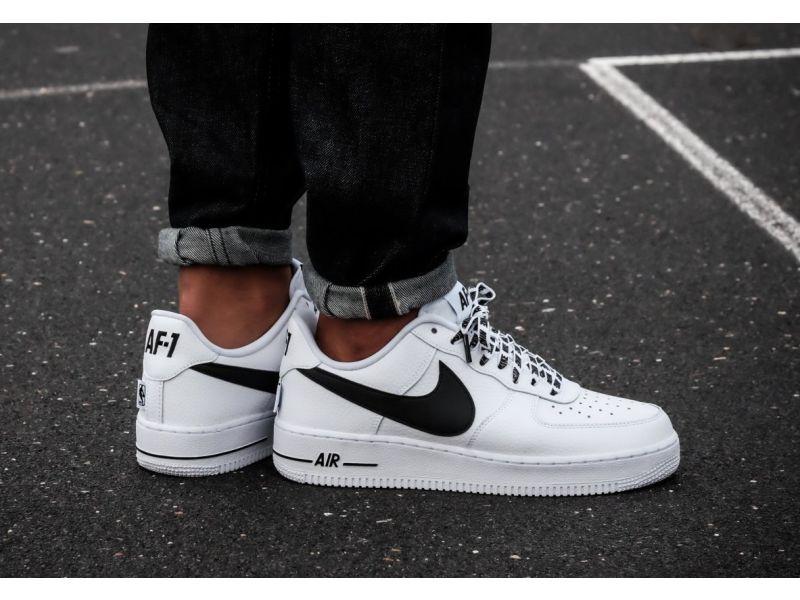 ac499242 Кроссовки мужские Nike Air Force 1 Low NBA Pack White 823511-103 (в стиле