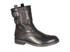 Сапоги мужские кожаные Faber черный (осень/зима) 18020 41