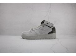 5282c5b6 Кроссовки женские Nike Air Force 1 Mid X Reigning Champ Grey Black 807618  200 (в