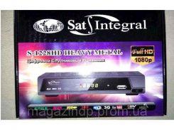 """263081. Супутниковий тюнер S-1228  HD HEAVY METAL (прошитий) ТМ""""SAT-INTEGRAL"""""""