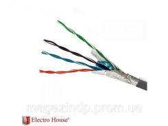 """212591. Кабель FTP 4х2х0,51 CCA 305м ТМ""""ElectroHouse"""""""