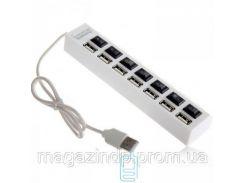 USB Hub H-02 7 PORT 0.5m additional power white Код:23096