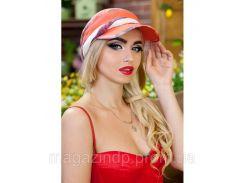 ЛЕТНЯЯ ЖЕНСКАЯ БАНДАНА «ПОЛИНА» - 1564 оранжевый Код:8904