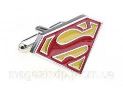 Запонки Superman yellow Код:106399