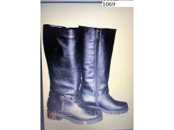 Женские сапоги из натуральной кожи 1069 АР Код:591369337