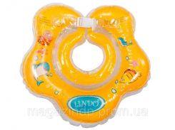 """308550. Коло для купання 0+ жовте 1558 ТМ""""LINDO"""""""