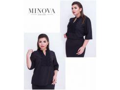 Блуза №409-черный