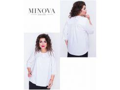 Блуза №406-белый