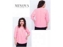 Блуза №408-персик