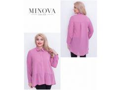 Блуза №17-42-сирень