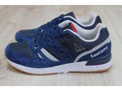 Мужские кроссовки Saucony синего цвета