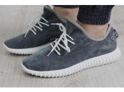 Мужские кроссовки Adidas Yeezy серые 40, 41р