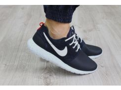 Кроссовки Nike Roshe Run синие кожаные 40, 41р