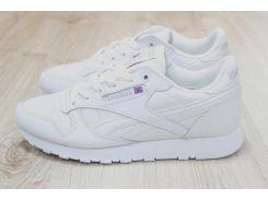 Кроссовки мужские кожаные белые Reebok
