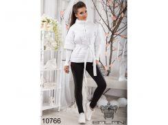 Теплая  куртка  -  10766 (Белый)