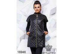 Элегантная жилетка - 16946 (Черный)