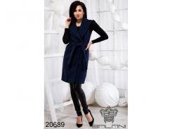 Элегантная жилетка с карманами - 20689 (темно-синий)