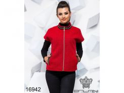 Элегантная жилетка - 16942 (Красный)
