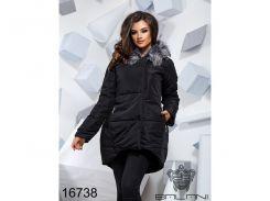 Теплая зимняя куртка - 16738 (Черный)