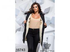 Теплая зимняя куртка - 16743 (Черный)