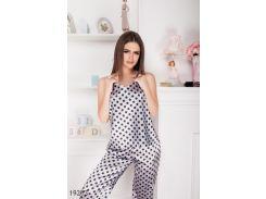 Женская пижама 19213 серый