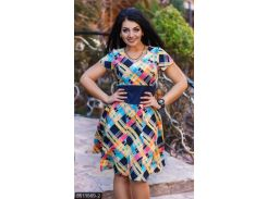 Платье 8511569-2 желтый                                                                                               Лето 2018                                                Украина