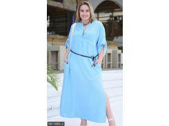 Платье 8511865-2 голубой                                                                                               Лето 2018