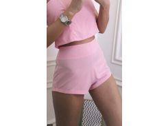Шорты 75105-2 розовый                                                                                               Лето 2018                                                Украина