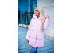 Зимняя курточка Зефирка розовая (розовый)