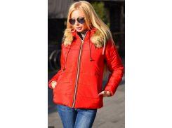 Куртка зимняя 333422-3 красный                                                                                                                                              Зима 2017