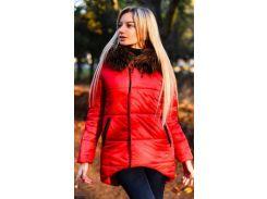 Куртка зимняя 333419-3 красный                                                                                                                                              Осень-Зима 2017