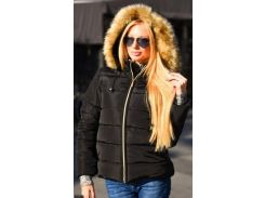 Куртка зимняя 333422-2 черный                                                                                                                                              Зима 2017