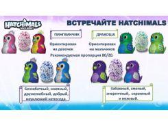Яйцо Hatchimals. Интерактивный питомец в яйце  Дракоша