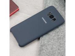 Original silicon case для Samsung Galaxy S8. Софт-тач силиконовые чехлы Черный