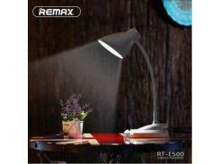 Портативная LED лампа Remax RT-E500 с клипсой Черный
