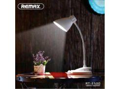 Портативная LED лампа Remax RT-E500 с клипсой Белый