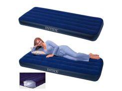 Односпальный надувной матрас Intex 68950 - 191см×76см×22 см