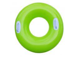 Надувной круг с ручками Intex 59258 (76cm) Зеленый