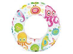 Надувной круг Intex 59241 от 6и до 10 (61cm) Осьминожки