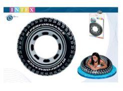 """Надувной круг """"Шина"""" Intex 59252 (91cm)"""