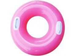 Надувной круг с ручками Intex 59258 (76cm) Розовый