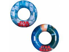 """Круг для плавания с ручками """"Star Wars"""" 91см. BestWay 91203"""