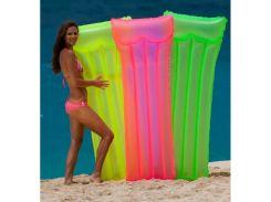 """Надувной пляжный матрас """"НЕОН"""" Intex 59717 (183х76см)"""